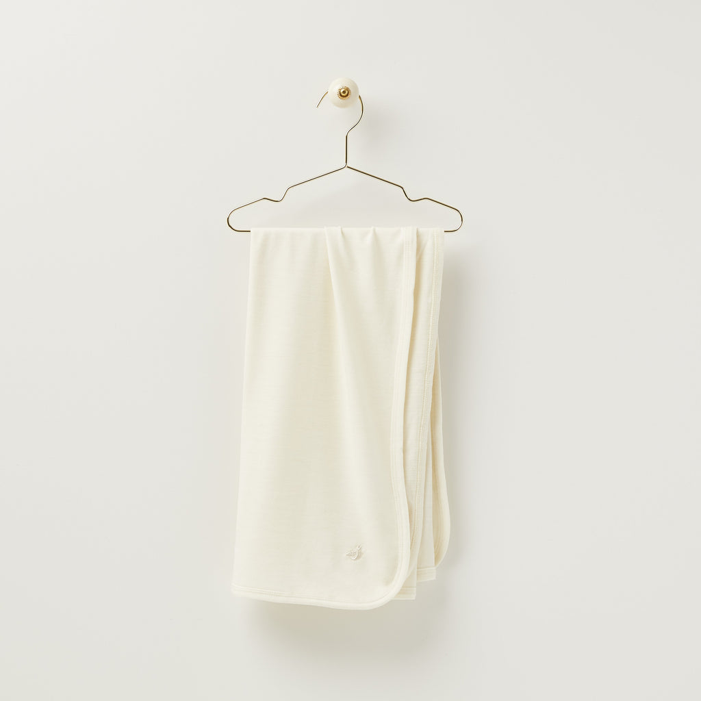 Roots & Wings Organic Merino Baby Swaddle Wrap