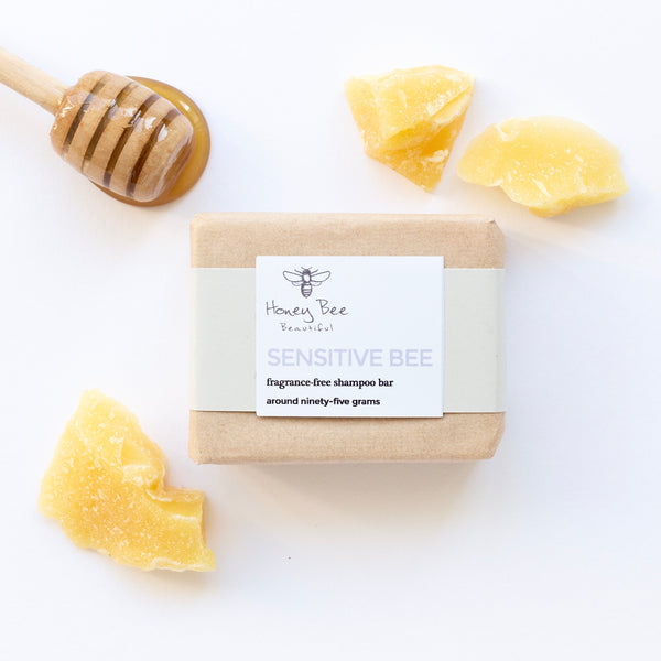Sensitive Bee Fragrance Free Shampoo Bar
