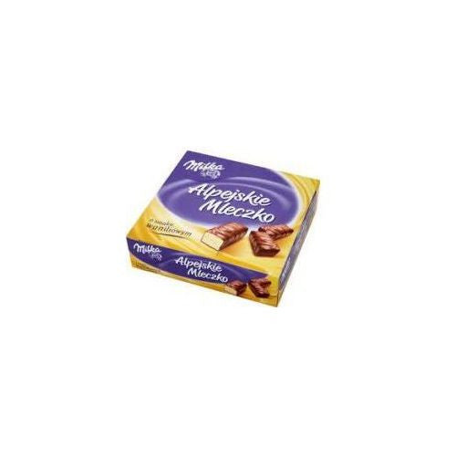 Milka Alpine Milk foam with vanilla flavor 330g