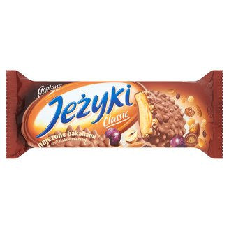 Jezyki Classic biscuits in milk chocolate 140g