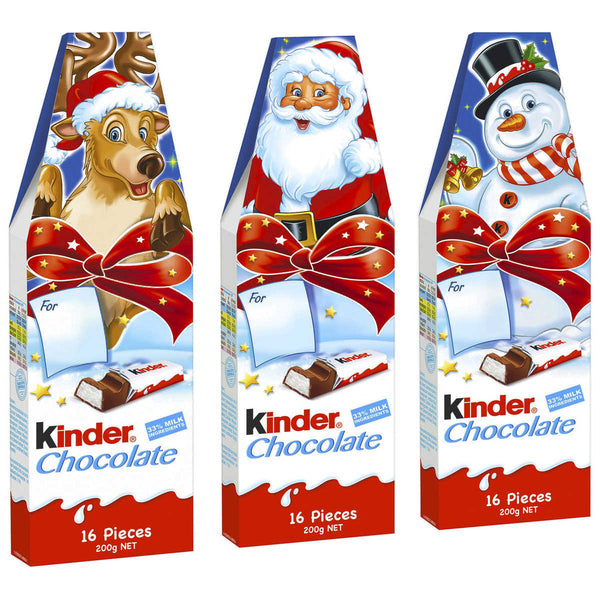 Kinder Chocolate 16 pcs 200g