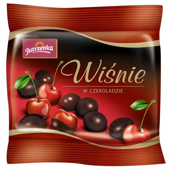 Jutrzenka Cherries In Chocolate 80g