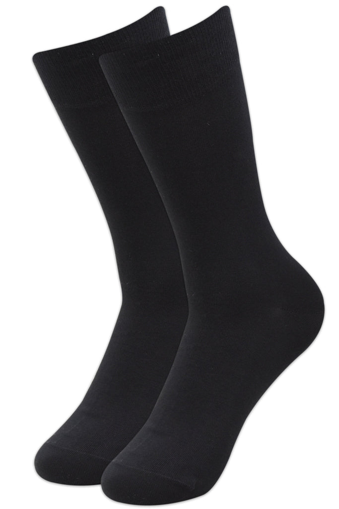 Balenzia Men's Fine Business Socks (Black, Navy and Grey) – Cotton- Combo Pack of 10 - Balenzia