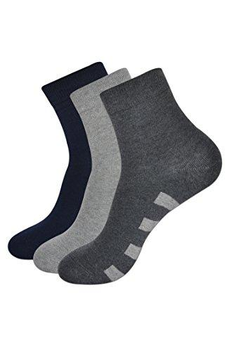 Balenzia Ankle Socks for Men (Pack of 3) - Balenzia