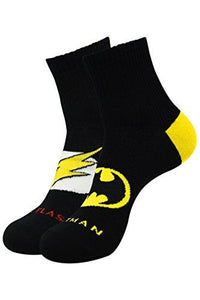 Justice League By Balenzia High Ankle Socks for Men (Pack of 2) - Balenzia