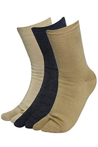 Balenzia Woollen Toe Socks for Women (Pack of 3) - Balenzia