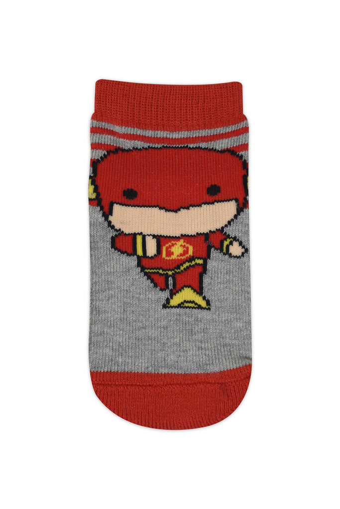 Justice League's Chibi By Balenzia Crew Socks for Kids- Pack of 3(2-4 Years) - Balenzia
