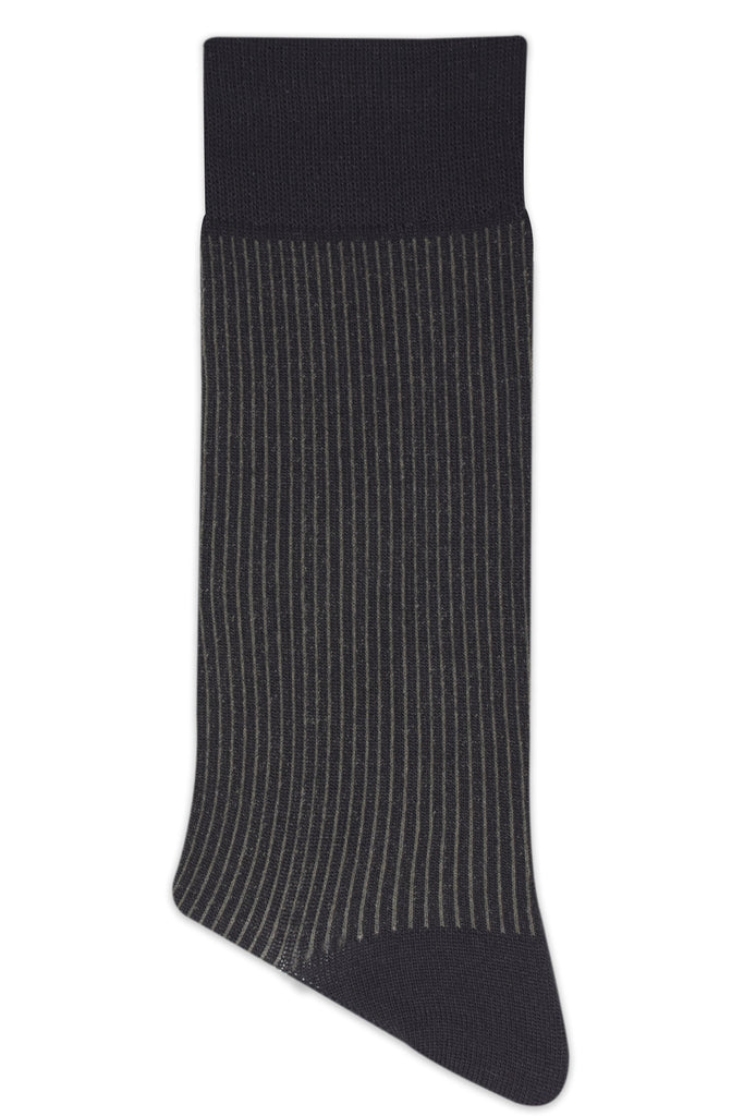 Balenzia Men's Striped detailed Modal Crew length Socks (Pack of 4) - Balenzia