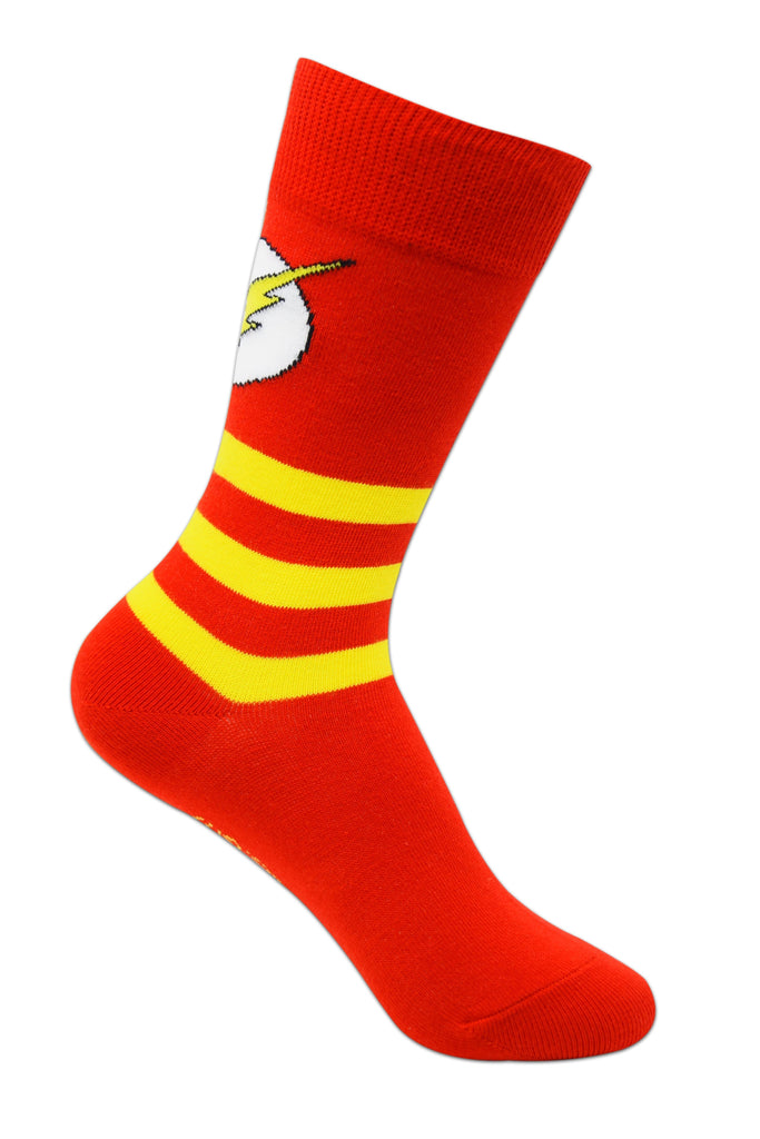 Justice League By Balenzia Crew Socks for Kids (Pack of 3)(5-8 Years) - Balenzia
