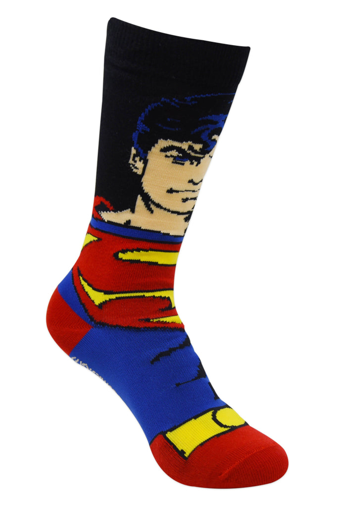 Justice League By Balenzia Crew Socks for Kids (Pack of 3) - Balenzia