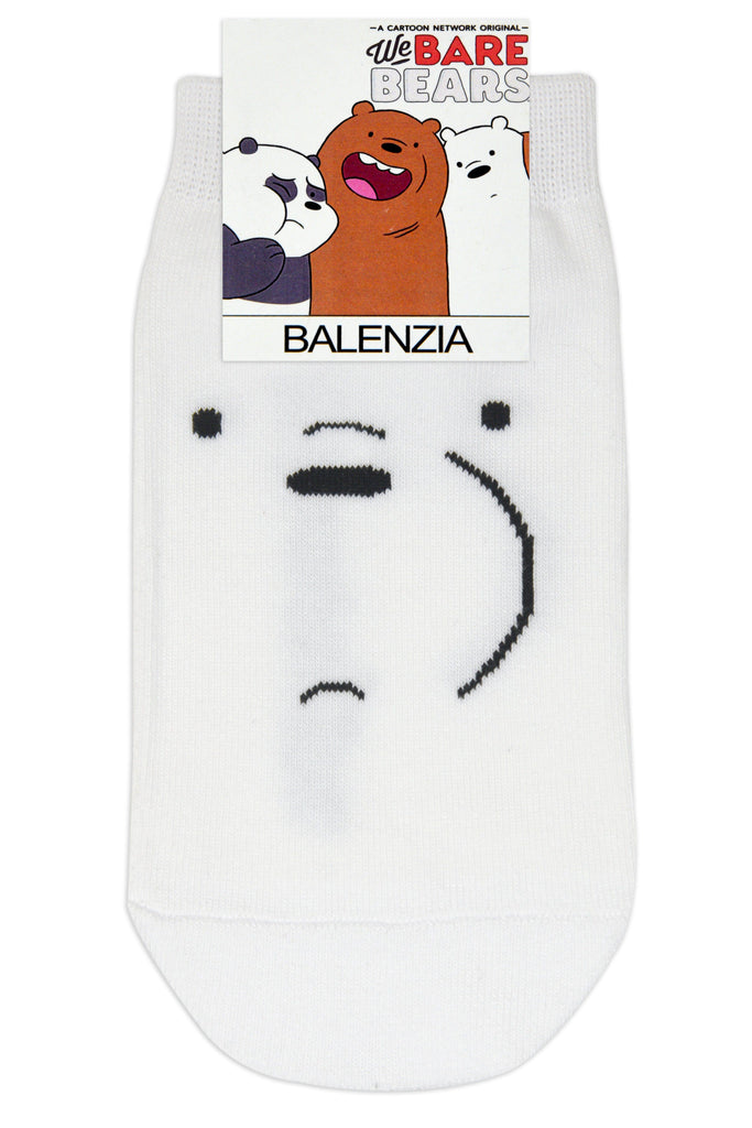 We Bare Bears By Balenzia Low Cut Socks for Kids (Pack of 3) - Balenzia