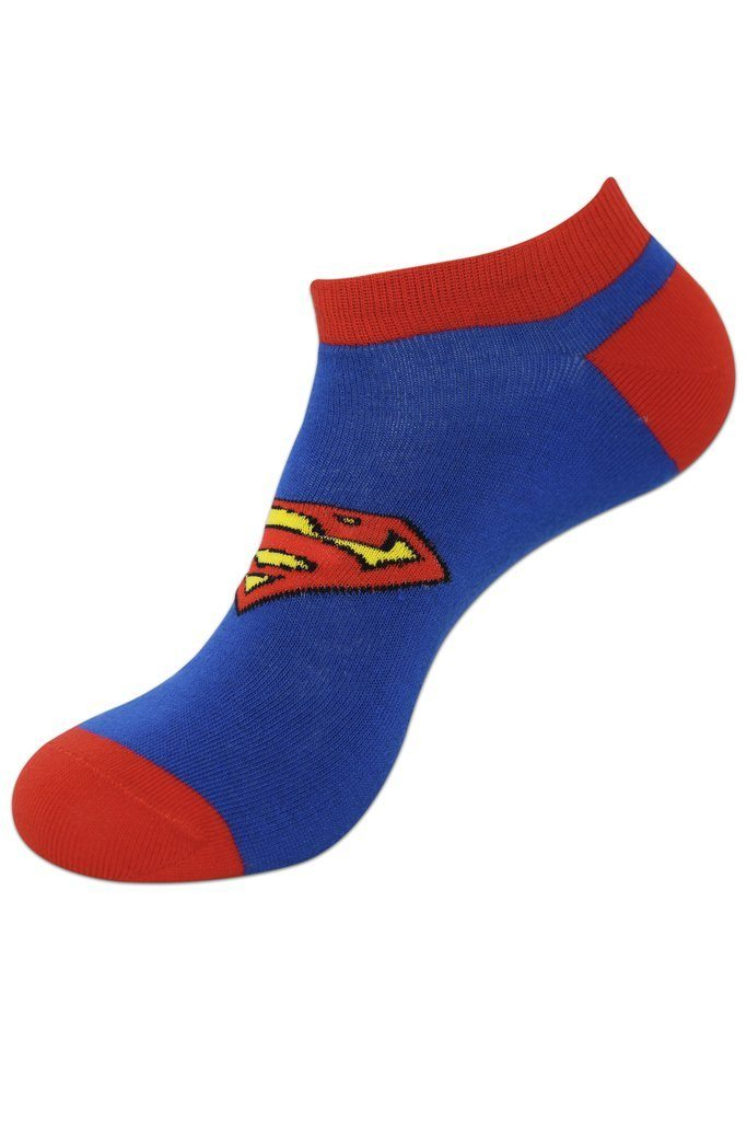 Justice League Gift Pack for Kids-Superman, Batman, Flash-Lowcut Socks - Balenzia