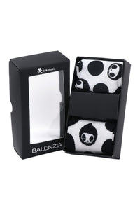 Balenzia X tokidoki Matching Mask and Crew Socks Gift Box for Men - Adios White - Balenzia