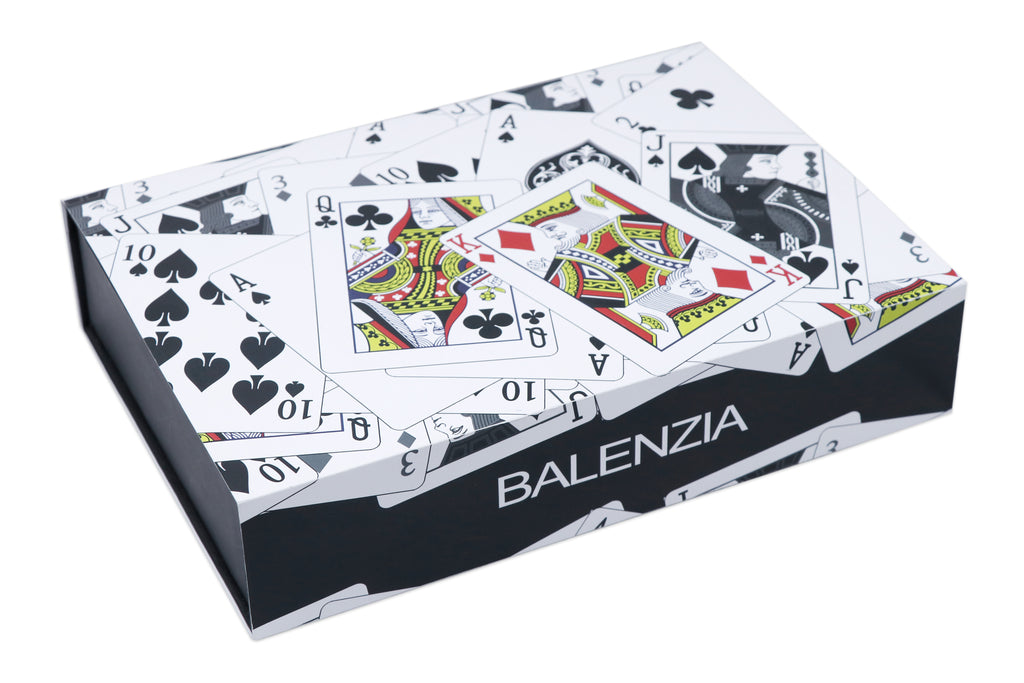 Balenzia Special Edition Poker Crew Socks Gift Pack for Men (Pack of 4) - Balenzia