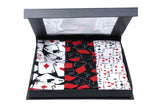 Balenzia Special Edition Poker Crew Socks For Men With Gift Box (Pack of 3) - Balenzia
