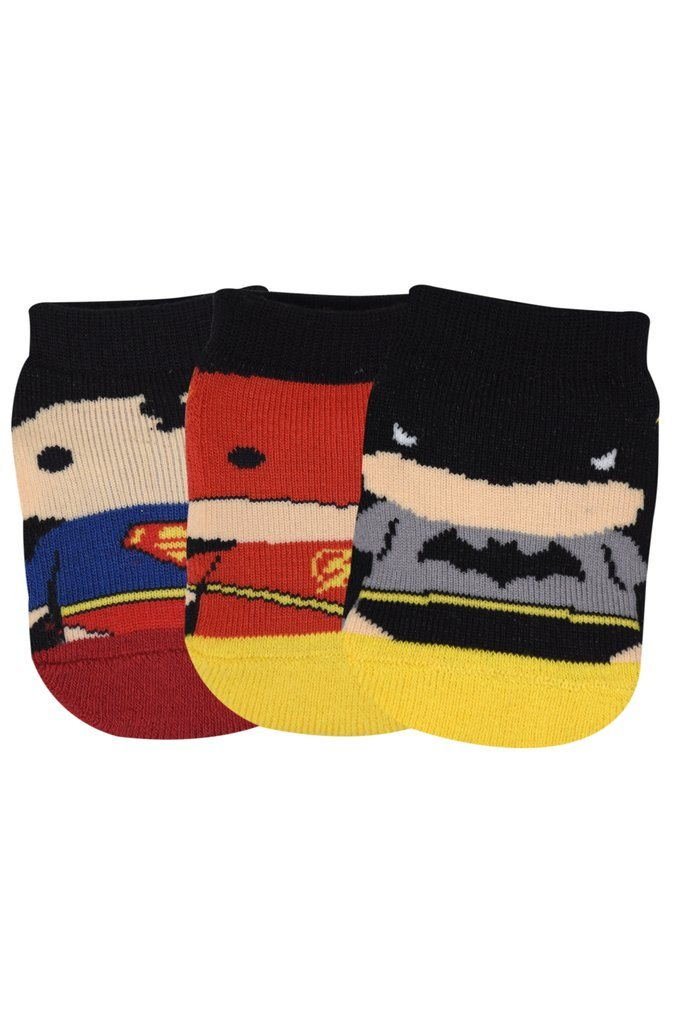 Justice League's Chibi Gift Pack for Kids-Lowcut Socks - Balenzia