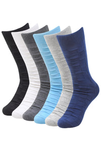 Balenzia Men's Cotton Crew Socks-6 Pair Pack - Balenzia