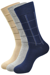 Balenzia Crew Socks for Men (Pack of 3) - Balenzia