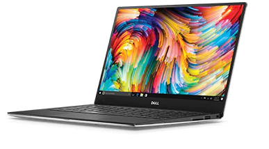 "Dell XPS 13 13.3"" Core i7-7500U 2.7GHz (3.5GHz) 8GB 256GB SSD Win10 Ноутбук"