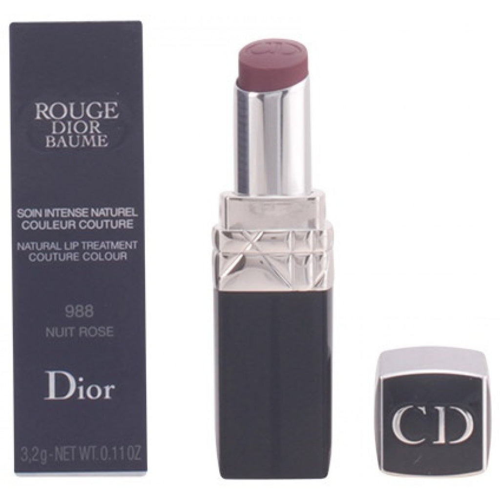 Dior Rouge Dior Baume Natural Lip Treatment 988 Nuit Rose для Женщин - губная помада