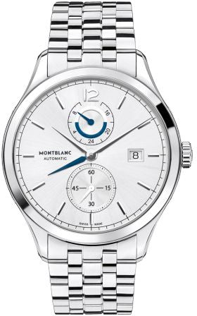 Mont Blanc Heritage Chronometrie Stainless Steel Dual Time Automatic Watch 112648 для Мужчин - наручные часы
