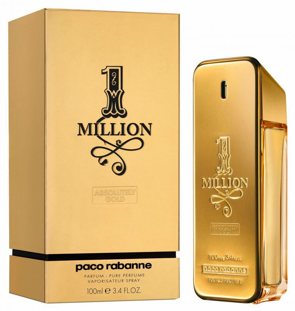 1 Million Absolutely Gold by Paco Rabanne для Мужчин - парфюмерная вода, 100 мл