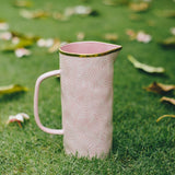 Garden Party Blush Jug/ Pitcher