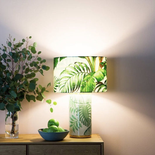 Bahama Lamp - Bahama Print Shade (outside only)