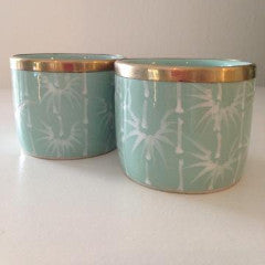 Mint Bamboo Tea light