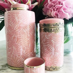 Faintly Fern Canister Blush