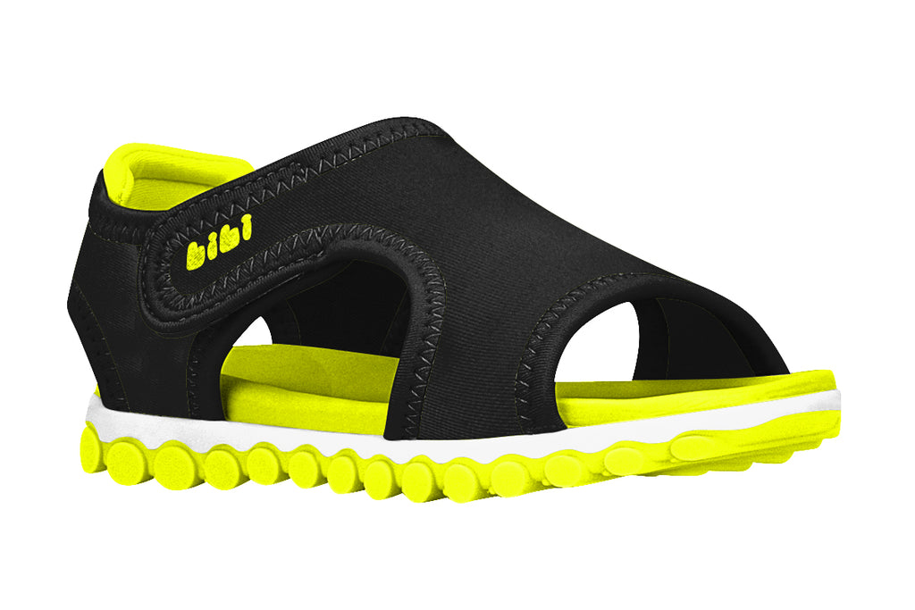 Summer Roller Sport - Black/Yellow Fluor