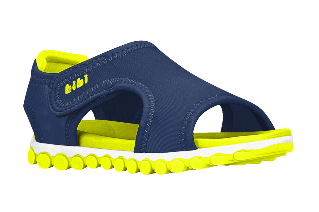 Summer Roller Sport - Navy/Yellow Fluor