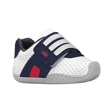 F.Flex Velcro - White/Blue/Cherry