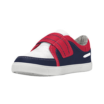 Kool Velcro - Blue/White/Cherry