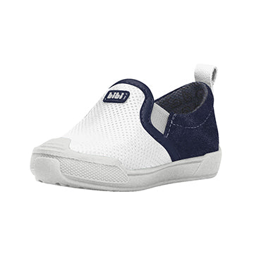 Crescer Slip On - White/Blue