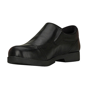 Back to School - Black Slip On