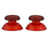 Clear Red Custom Thumbsticks Analog Stick Part for PS4 Controll - P4J0111