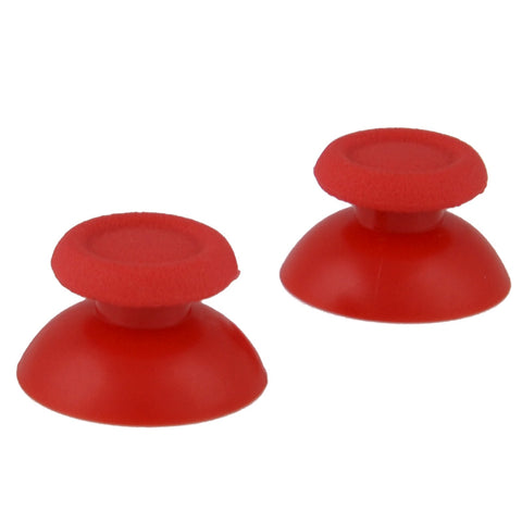 Solid Red Analog Thumbsticks Buttons Repair for PS4 Controller - P4J0101