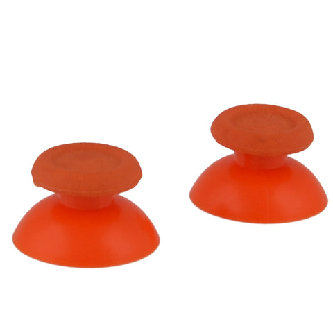 Solid Orange Analog Thumbsticks Buttons Repair for PS4 Controller - P4J0102