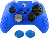 Soft Silicone Controller Cover Thumb Caps for Xbox One Elite Dark Blue-XBOWP0037GC