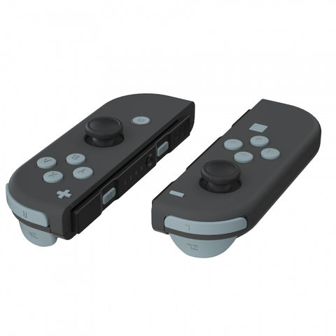 Soft Touch New Hope Gray Replacement ABXY Direction Keys SR SL L R ZR ZL Trigger Buttons Springs, Full Set Buttons Repair Kits with Tools for Nintendo Switch Joy-Con JoyCon Shell NOT Included - AJ226