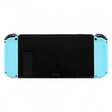 Soft Touch Grip Heaven Blue Handheld Controller Housing With Full Set Buttons DIY Replacement Shell Case for Nintendo Switch Joy-Con - Console Shell NOT Included - CP307