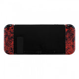Soft Touch Grip Demons and Monsters Handheld Controller Housing With Full Set Buttons DIY Replacement Shell Case for Nintendo Switch Joy-Con - Console Shell NOT Included - CS203
