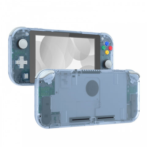 Glacier Blue DIY Replacement Shell for Nintendo Switch Lite, NSL Handheld Controller Housing w/ Screen Protector, Custom Case Cover for Nintendo Switch Lite - DLM506
