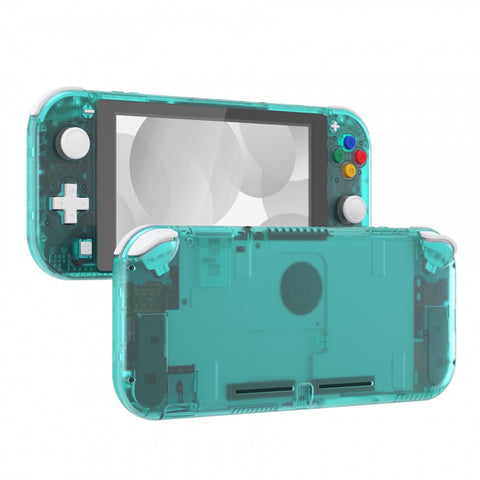 Emerald Green DIY Replacement Shell for Nintendo Switch Lite, NSL Handheld Controller Housing w/ Screen Protector, Custom Case Cover for Nintendo Switch Lite - DLM508