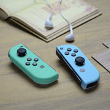 Soft Touch Grip Mint Green & Heaven Blue Housing with Full Set Buttons, DIY Replacement Shell Case for Nintendo Switch Joy-Con ¨C Console Shell NOT Included - CP317