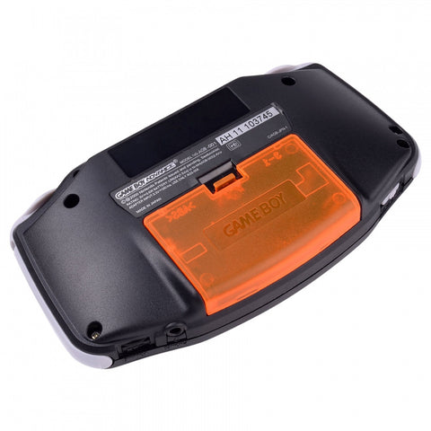 Clear Orange Battery Lid Door Cover for Nintendo Game Boy Advance GBA - GAAJ0003GC