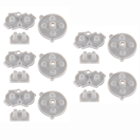 5 Set Repair Kit Gel Conductive Adhesive Button Pad for Game Boy Advance Console-GBARP0001*5