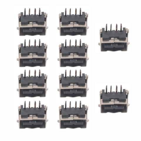 10PCS Replacement Charger Charging Port Plug For Nintendo Game Boy SP DS Console-GBSRP0002*10