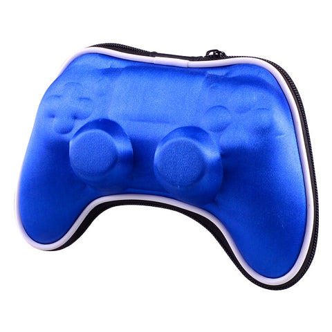 Blue Shockproof Controller Airform Carry Pouche for PS4 With Strap - GC00012L